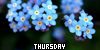 Calendar Events : Thursday: